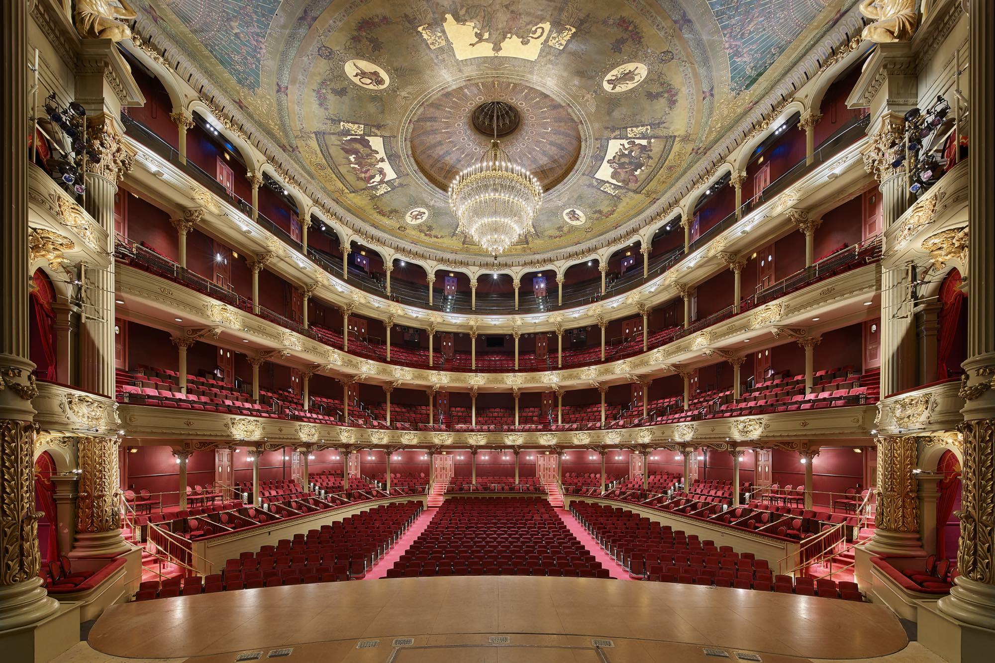 Academy Of Music Seating Improvements Voith And Mactavish